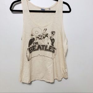 Junk Food Beatles tank